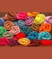 140 - Scialli in filato di pura pashmina