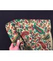 1231 - Pashmina and silk stole, printed batik