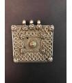 1235 - Antique Turkmen silver pendant (18th century)